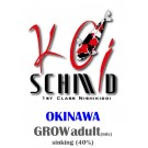 OKINAWA Grow Adult Sinking (40%) Futtermix 3mm 10KG